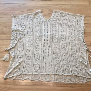 Bathing Suit Cover Up With Side Ties.